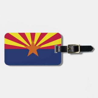 Arizona State Flag Bag Tag