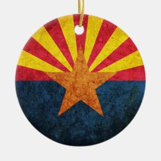 Arizona State Flag Ceramic Ornament
