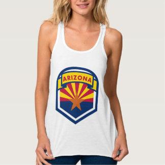 Arizona State Flag Crest Tank Top