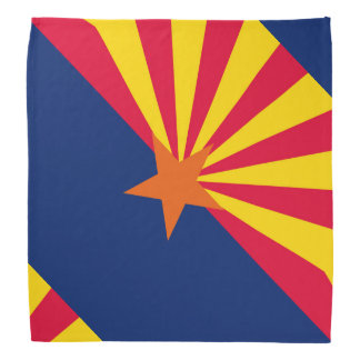 Arizona State Flag Design Head Kerchiefs
