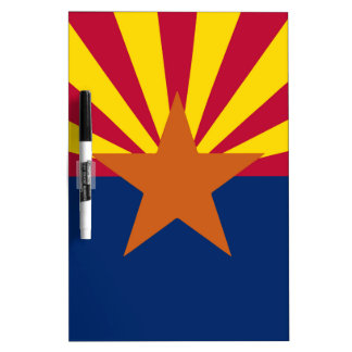 Arizona State Flag Dry Erase Board