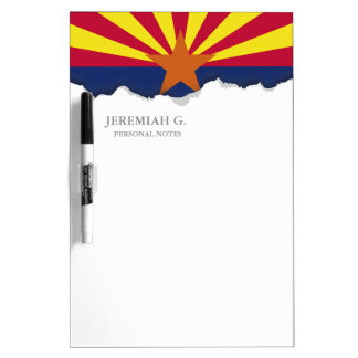 Arizona State Flag Dry-Erase Whiteboard