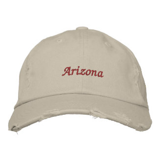 Arizona State Flag Embroidered Hat