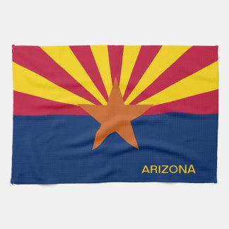 Arizona State Flag Kitchen Towel