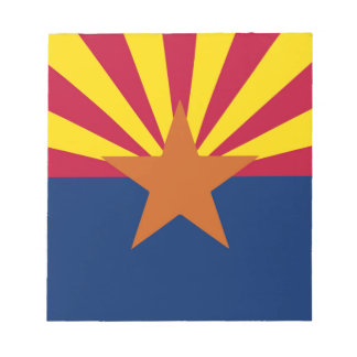 Arizona State Flag Notepad