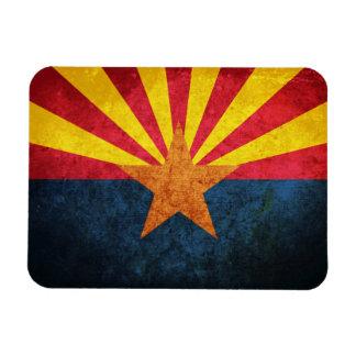 Arizona State Flag Rectangle Magnets