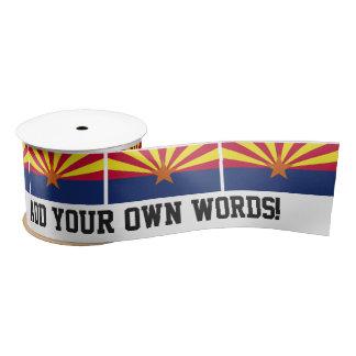 Arizona State Flag Satin Ribbon