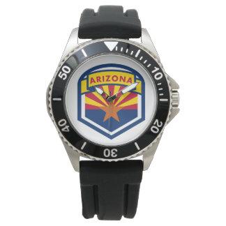 Arizona State Flag Shield Watches