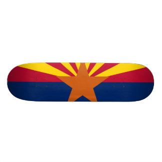 Arizona State Flag Skateboard