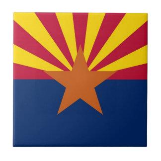 Arizona State Flag Tile