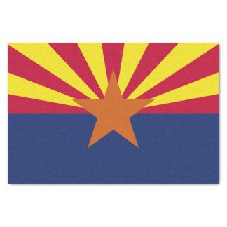 Arizona State Flag Tissue Paper