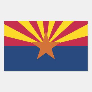 Arizona State Flag, United States. Navajo Nation Sticker