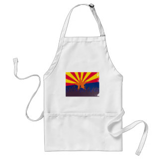 Arizona State Flag with Audience Standard Apron