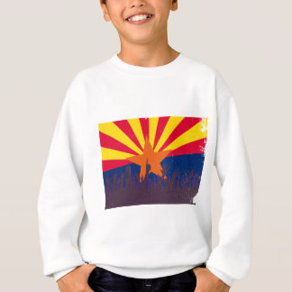Arizona State Flag with Audience Sweatshirt
