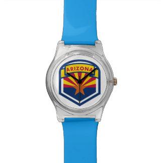 Arizona State Flag Wristwatches