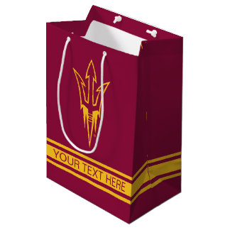 Arizona State Fork Medium Gift Bag
