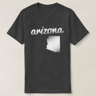 Arizona state in white T-Shirt