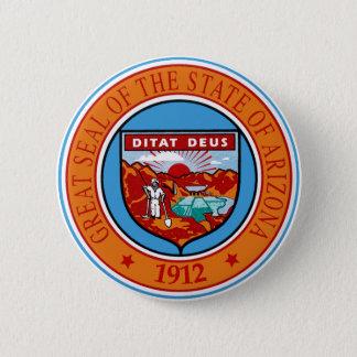 Arizona State Seal 2 Inch Round Button
