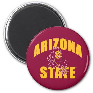 Arizona State Sun Devil 2 Inch Round Magnet