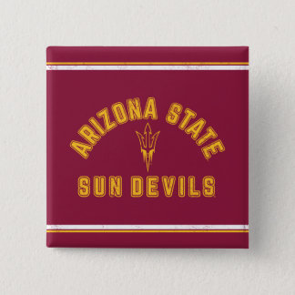 Arizona State | Sun Devils - Retro 2 Inch Square Button