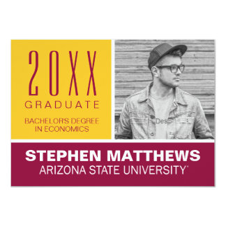 Arizona State Universtiy Graduation Announcement