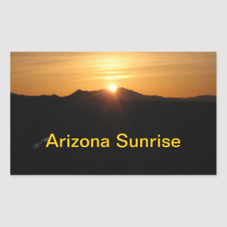 Arizona Sunrrise sticker