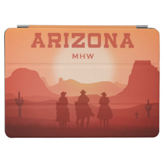 Arizona Sunset custom monogram device covers iPad Air Cover