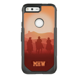 Arizona Sunset custom monogram phone cases