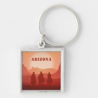 Arizona Sunset custom text key chains