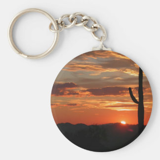 Arizona Sunset Keychain