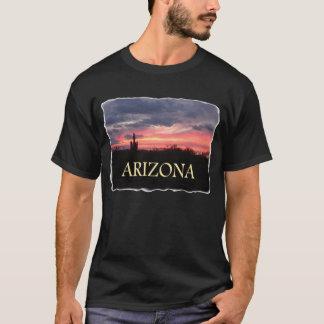 ARIZONA Sunset on black T-Shirt
