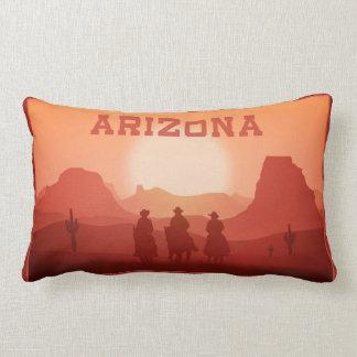Arizona Sunset throw pillows
