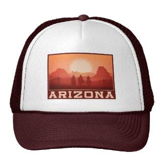Arizona Sunset trucker hats