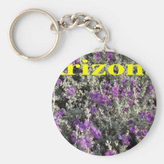 Arizona Texas Sage Keychains