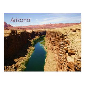 Arizona Travel Poster Style Landscape Photograph Postcard
