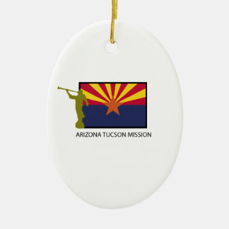 ARIZONA TUCSON MISSION LDS CTR CERAMIC ORNAMENT