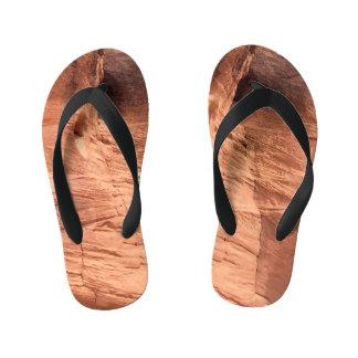 ARIZONA - Upper Antelope Canyon A - Red Rock Kid's Flip Flops
