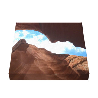 ARIZONA - Upper Antelope Canyon B - Red Rock Canvas Print