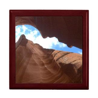 ARIZONA - Upper Antelope Canyon B - Red Rock Keepsake Box