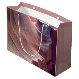 ARIZONA - Upper Antelope Canyon D2 - Red Rock Large Gift Bag