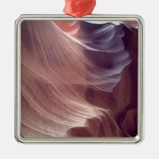 ARIZONA - Upper Antelope Canyon D2 - Red Rock Metal Ornament