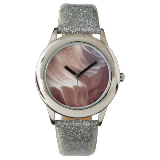 ARIZONA - Upper Antelope Canyon D - Red Rock Wrist Watch