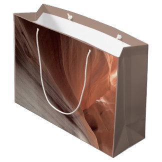 ARIZONA - Upper Antelope Canyon E - Red Rock Large Gift Bag