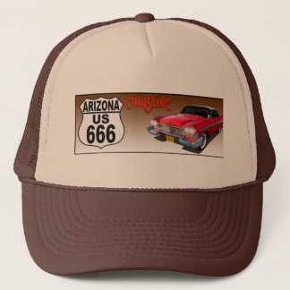 Arizona US Route 666 - Christine Trucker Hat