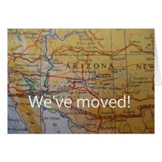 Arizona We've Moved address announcement