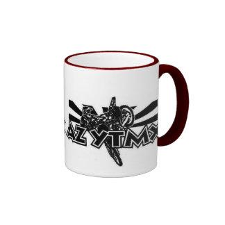Arizona Young Timers Logo On 11oz MaroonRinger Mug