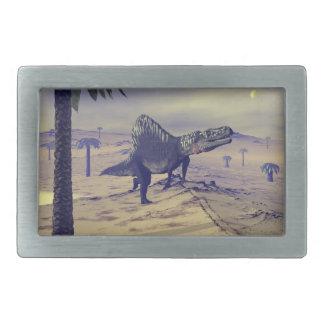 Arizonasaurus dinosaur - 3D render Belt Buckle