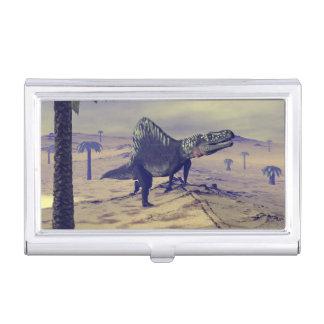 Arizonasaurus dinosaur - 3D render Business Card Holder