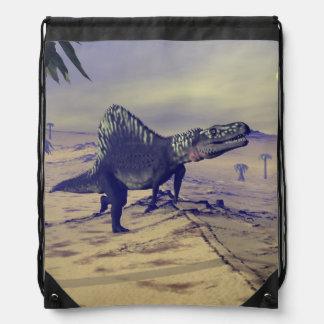 Arizonasaurus dinosaur - 3D render Drawstring Bag
