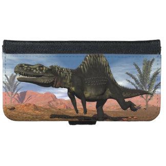 Arizonasaurus dinosaur - 3D render iPhone 6 Wallet Case